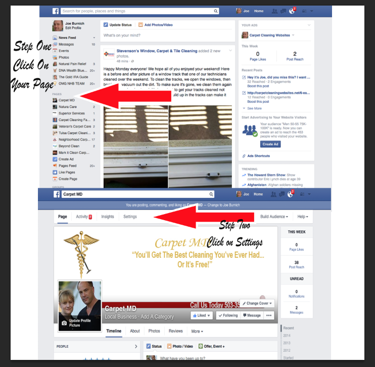 How To Add An Administrator Onto Your Facebook