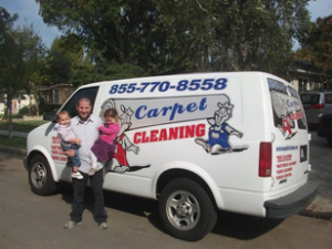 Mark-It Clean Establishes The All American Family In Long Beach CA