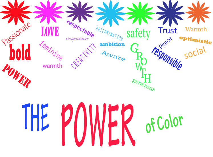 The Power Of Color In Internet Marketing